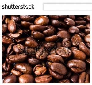 ローストコーヒーの背景