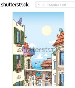 地中海の古い街並み