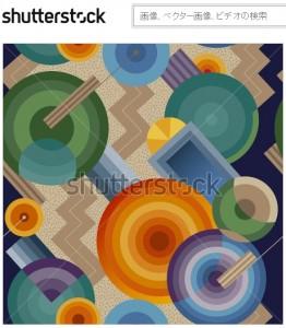 抽象的な幾何学模様